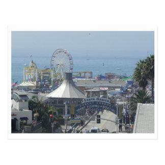 サンタモニカ桟橋 ポストカード