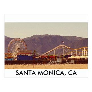 サンタモニカ桟橋-郵便はがき ポストカード