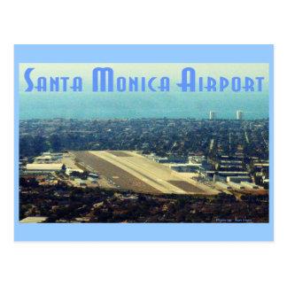 サンタモニカ空港 ポストカード