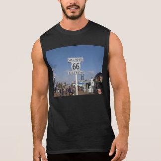サンタモニカ、カリフォルニア- RT 66 袖なしシャツ