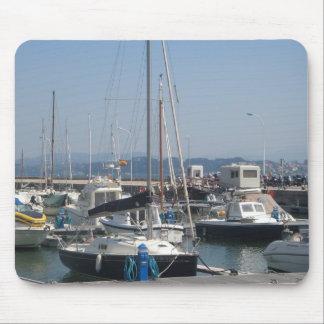 サンタンデル-港 マウスパッド