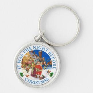 サンタ及び夫人クロース-クリスマスイブ、北極 キーホルダー
