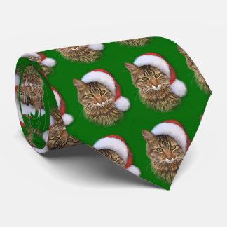 サンタ猫 オリジナルネクタイ