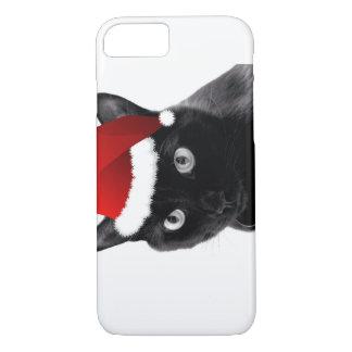 サンタ猫 iPhone 7ケース
