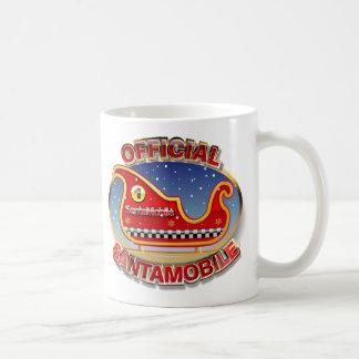 サンタ移動式-トナカイなしのそり コーヒーマグカップ