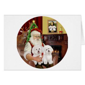 サンタ2のBichon Frise カード