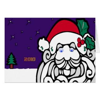 サンタ2010年 カード