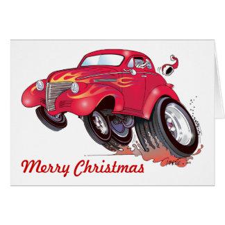 サンタ39のChevyのクリスマスカード カード