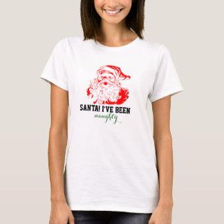 サンタ! ずっと私はいけないです Tシャツ