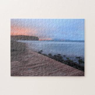 サンタ・バーバラのビーチ ジグソーパズル