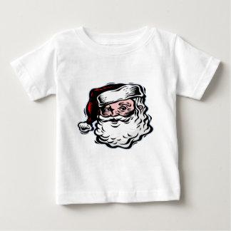 サンタ ベビーTシャツ