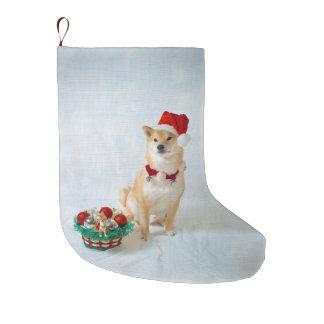サンタBarkleyのクリスマスのストッキング ラージクリスマスストッキング