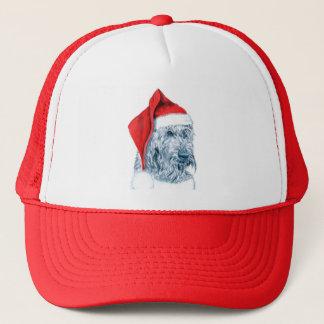 サンタLabradoodleの帽子 キャップ