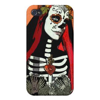 サンタMuerteのiphone 4ケース iPhone 4/4S Case