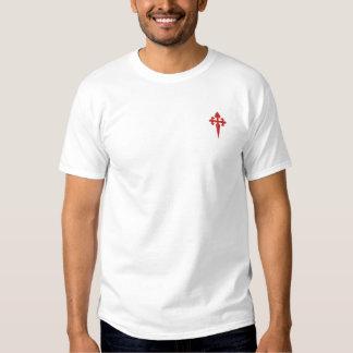 サンティアゴの十字 刺繍入りTシャツ