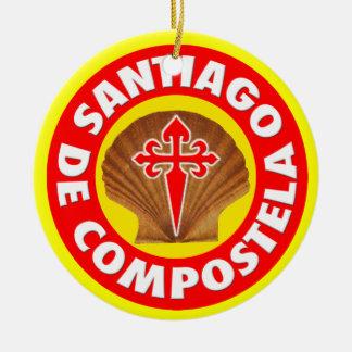 サンティアゴ・デ・コンポステーラ セラミックオーナメント