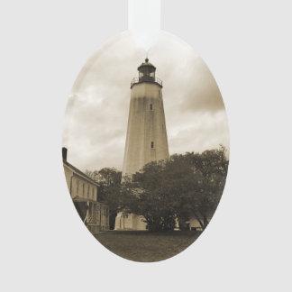 サンディのホックの灯台 オーナメント