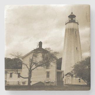 サンディのホックの灯台 ストーンコースター