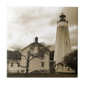 サンディのホックの灯台 タイル