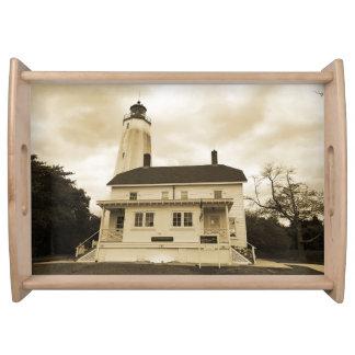 サンディのホックの灯台 トレー