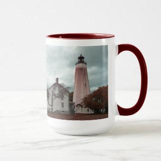 サンディのホックの灯台 マグカップ