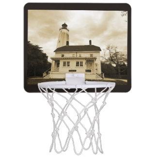 サンディのホックの灯台 ミニバスケットボールゴール