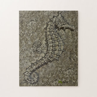 サンディはタツノオトシゴの写真を織りました ジグソーパズル