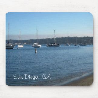 サンディエゴのカリフォルニアのマウスパッド マウスパッド