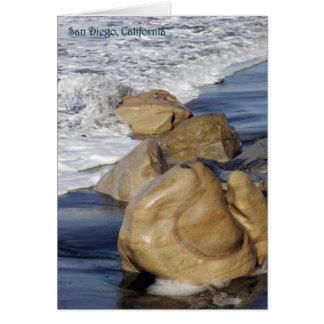 サンディエゴのカリフォルニアの海景 カード