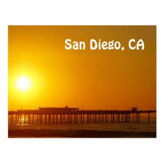 サンディエゴのカリフォルニアの郵便はがき ポストカード