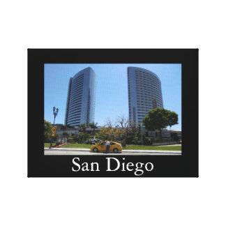 サンディエゴのキャンバス キャンバスプリント
