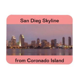 サンディエゴのスカイラインのFlexyの磁石 マグネット