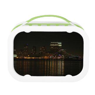 サンディエゴのスカイライン夜 ランチボックス
