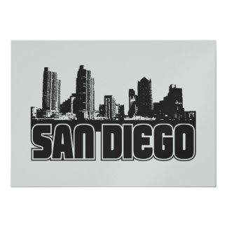 サンディエゴのスカイライン カード