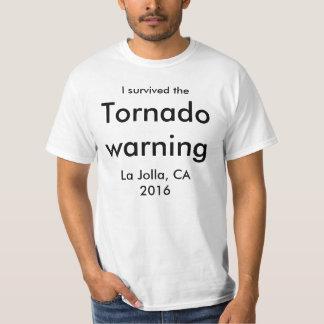 サンディエゴのトルネード警告 Tシャツ