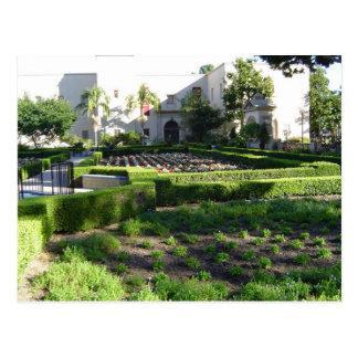 サンディエゴのバルボア公園 ポストカード