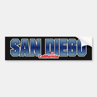 サンディエゴのバンパー バンパーステッカー