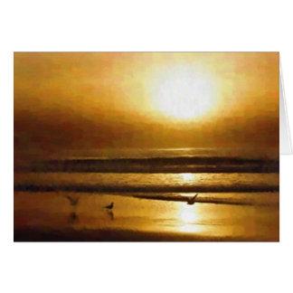 サンディエゴのビーチ カード