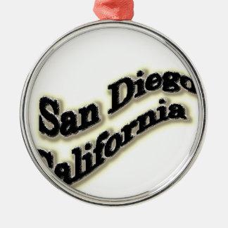 サンディエゴのペン メタルオーナメント