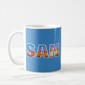 サンディエゴのマグ コーヒーマグカップ