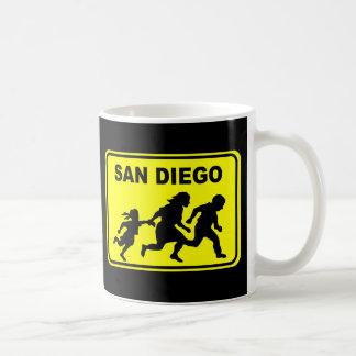 サンディエゴの交差 コーヒーマグカップ