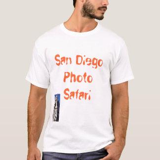サンディエゴの写真のサファリのバルボア公園のワイシャツ Tシャツ