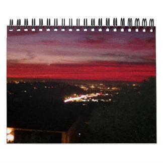 サンディエゴの完全な日没のカレンダー カレンダー