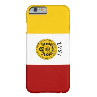 サンディエゴの旗 BARELY THERE iPhone 6 ケース