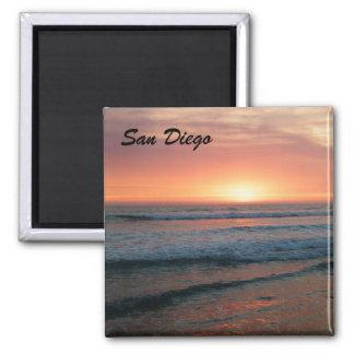 サンディエゴの日没 マグネット