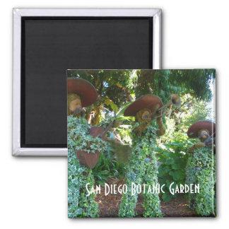 サンディエゴの植物園 マグネット