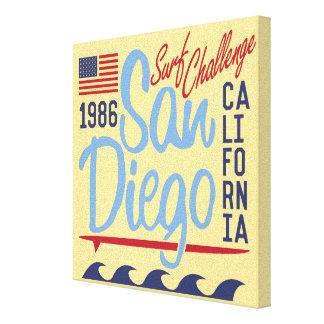サンディエゴの波の挑戦1986年 キャンバスプリント