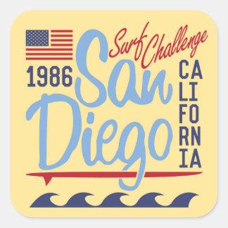 サンディエゴの波の挑戦1986年 スクエアシール