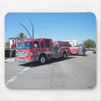 サンディエゴの消防車 マウスパッド