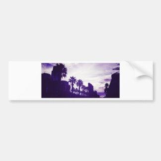 サンディエゴの紫色 バンパーステッカー